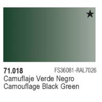 Camouflage Black Green New