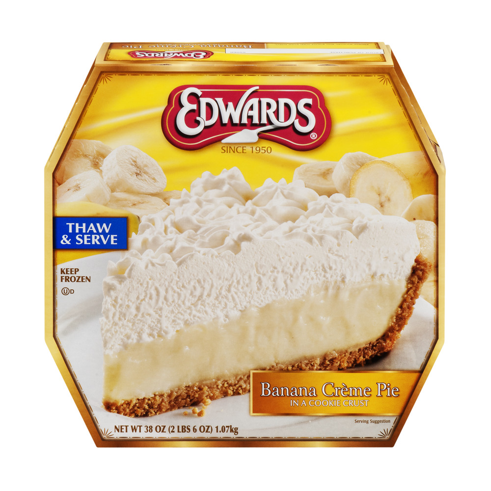 Edwards Banana Creme Pie in a Cookie Crust, 38.0 OZ