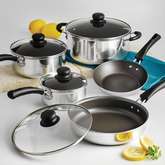 Tramontina 9-Pc. Simple Cooking Nonstick Cookware Set