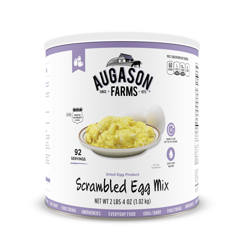 Augason Farms Scrambled Egg Mix 2 lbs 4 oz No. 10 Can by Blue Chip Group