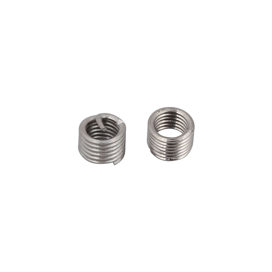 M3x0.5mmx4.5mm 304 Stainless Steel Helical Coil Wire Thread Insert 50pcs - image 1 of 2