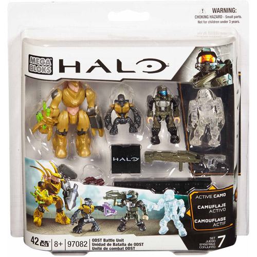 Mega Bloks Halo ODST Battle Pack Set #97082