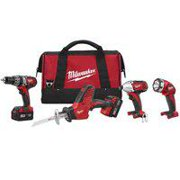 Best Power Tool Combo Kits - Milwaukee 2695-24 M18 18V Cordless Power Tool Combo Review
