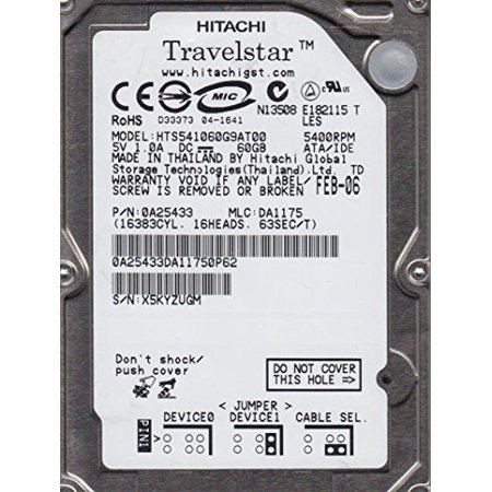REFURBISHED - HP Genuine 320GB SATA hard disc drive 7200 RPM 2.5 for Notebooks - 2.5 Sata 300 Notebook