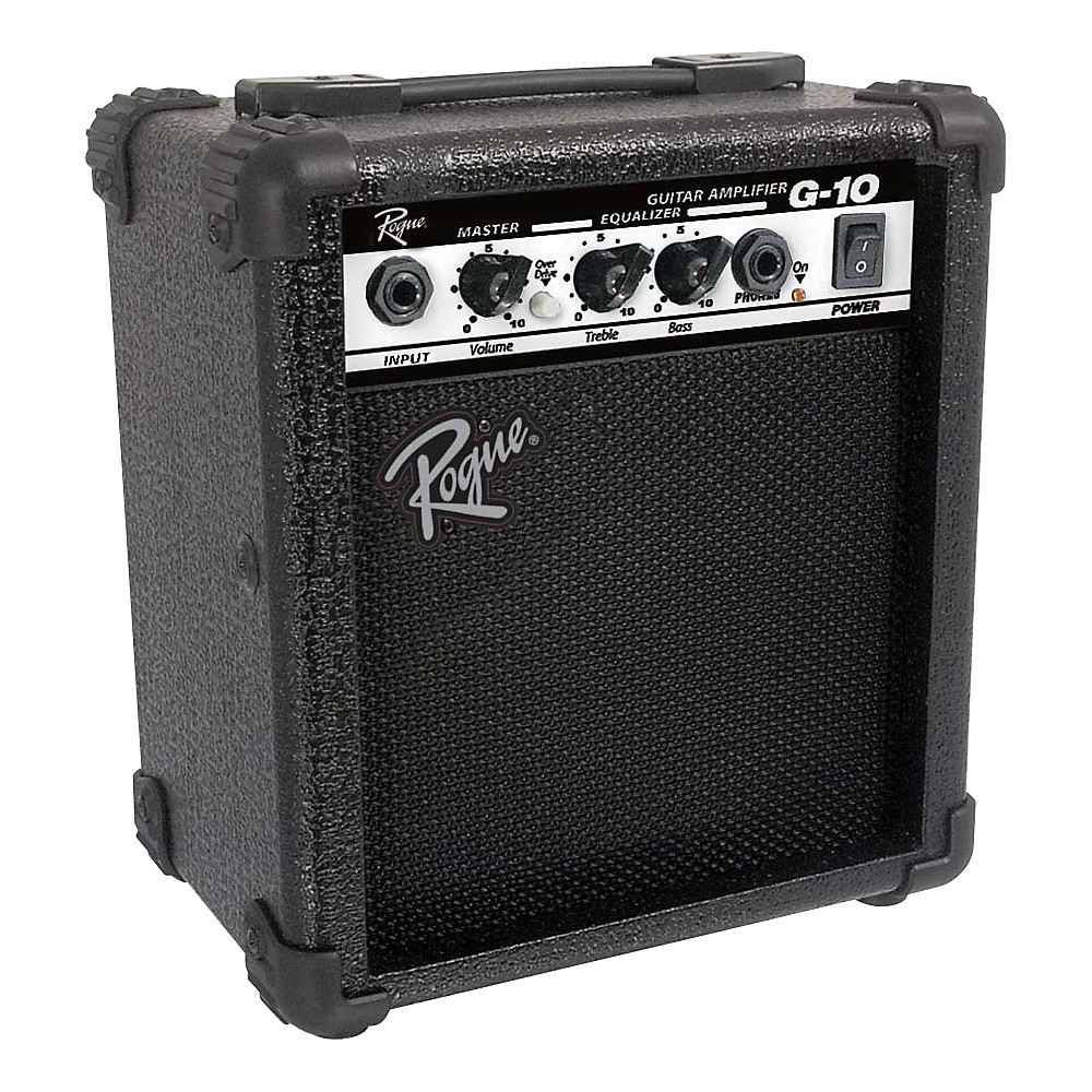 Rogue G10 10w 1x5 Guitar Combo Amp Black Mini Audio Amplifier