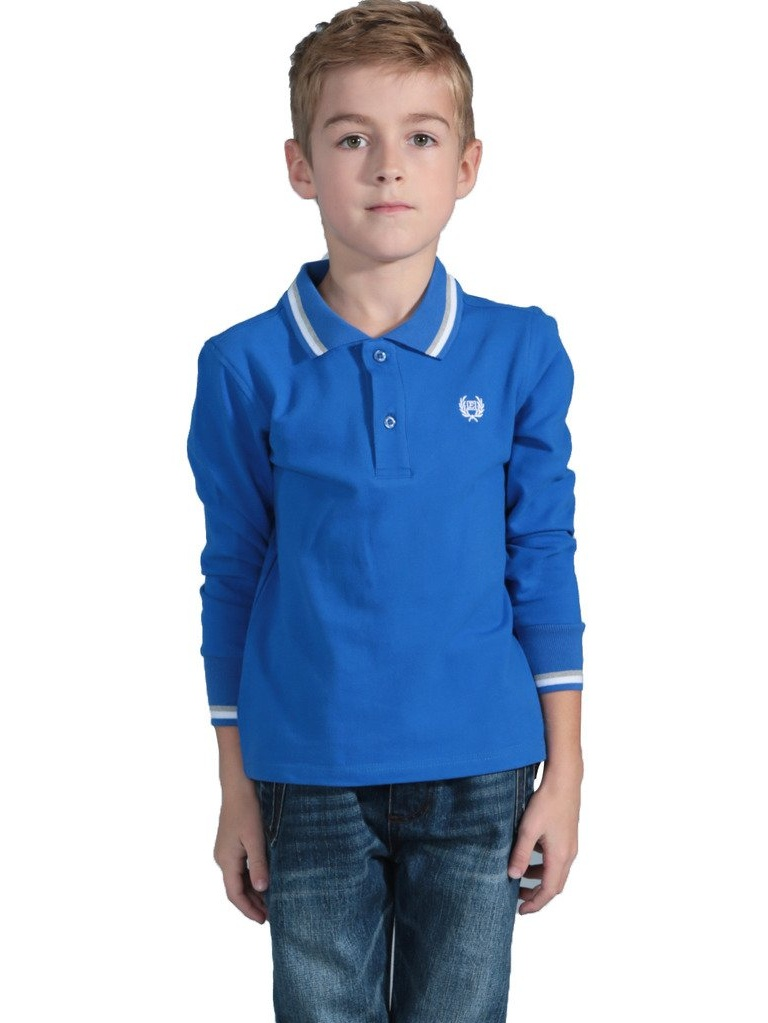Leo&Lily Boys Winter Padded Puffer Contrast Jacket Outwear Coats (Blue, 16)
