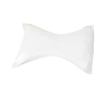 Rest Pillow,18inLx24inW,Wht,Plystr Fiber DMI 554-8009-1900