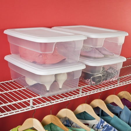 Sterilite, 12 Qt./11.4 L Storage Box, White ()