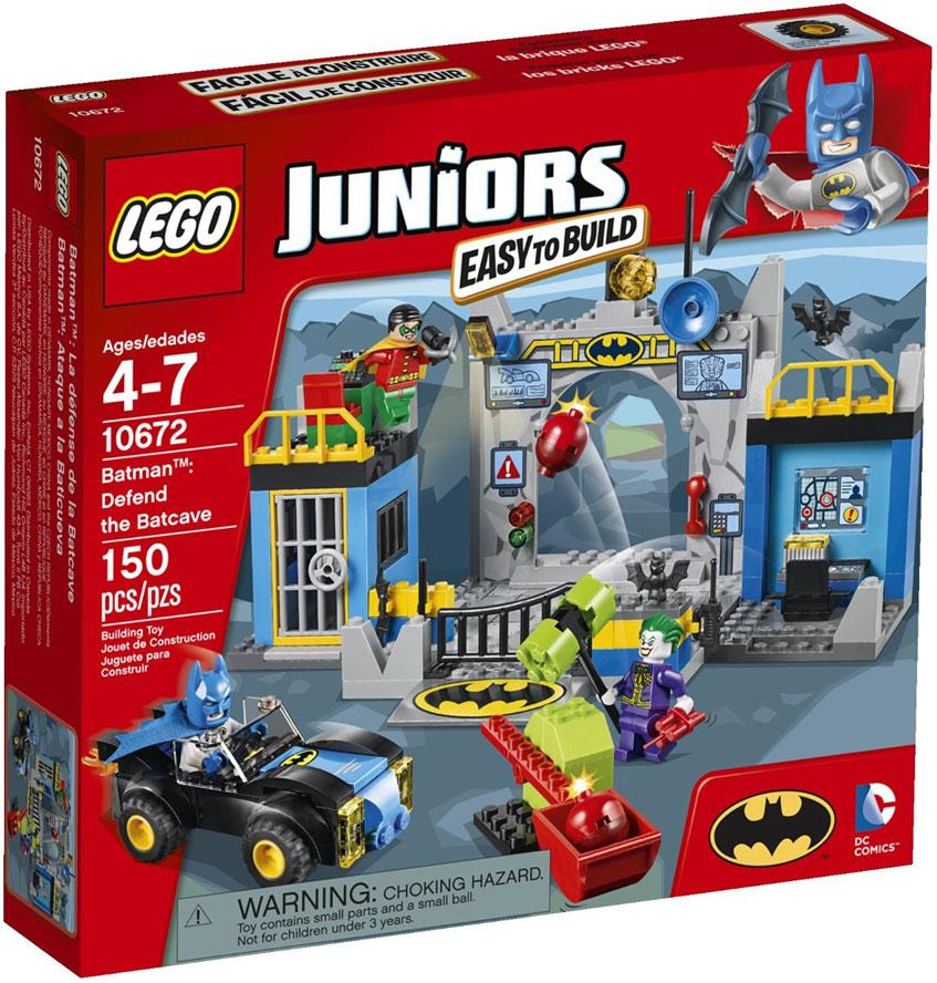 LEGO Juniors Batman: Defend the Batcave 10672