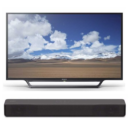 Sony KDL32W600D 32-Inch HD Smart TV with Sony S200F (HT-S200F)