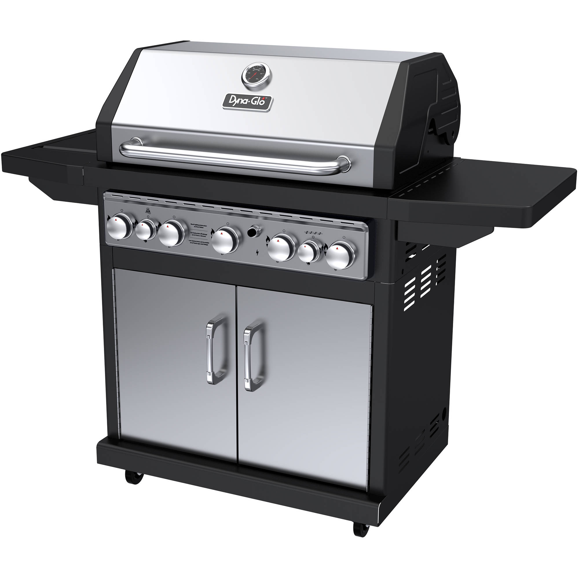Dyna-Glo DGA550SSP-D 5-Burner Stainless LP Gas Grill