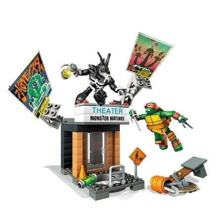 Mega Bloks Teenage Mutant Ninja Turtles Raph Rooftop Blast-Out Building Playset ()