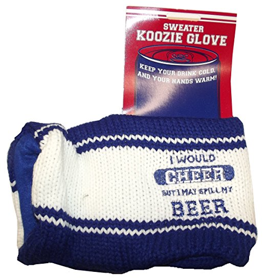 Sweater Koozie Insulated Glove (Blue) by