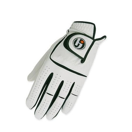 HJ Glove Mens Cabretta Leather Function Golf Glove Worn on Left Hand / Cadet Large