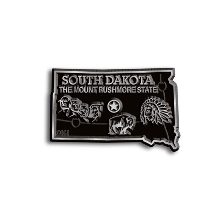 Mount Rushmore Charm (South Dakota The Mount Rushmore State Map Fridge Magnet)