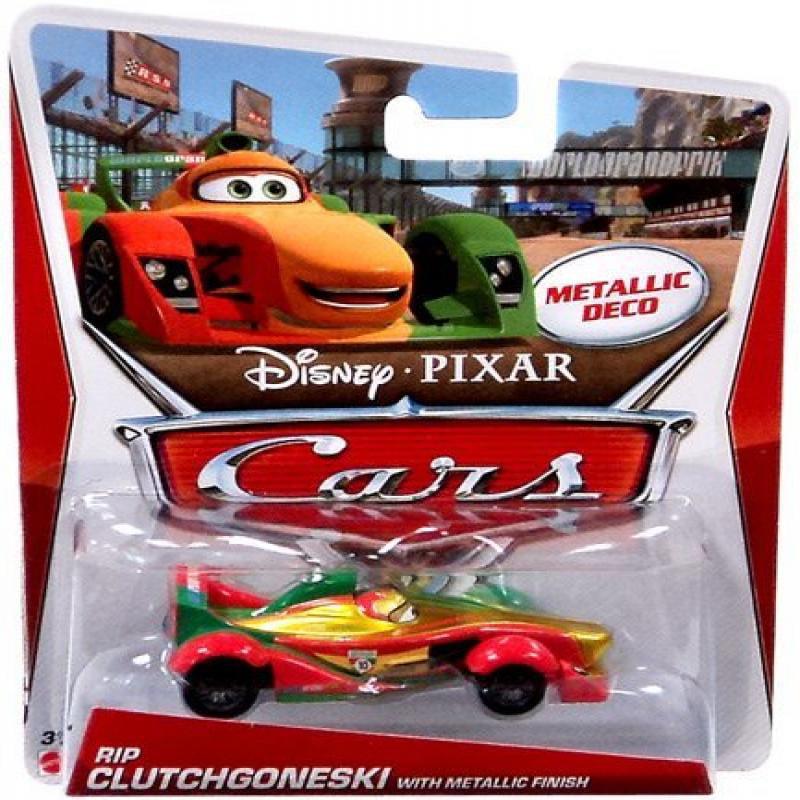 Disney/Pixar Cars Exclusive Rip Clutchgoneski Metallic Finish 1:55 Scale