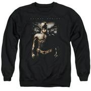 Batman Begins Gotham Bats Mens Crewneck Sweatshirt