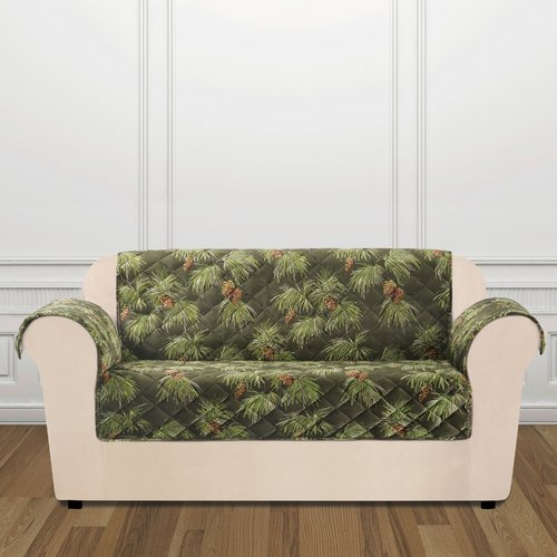 Sure Fit Holiday Furniture Loveseat Slip Cover