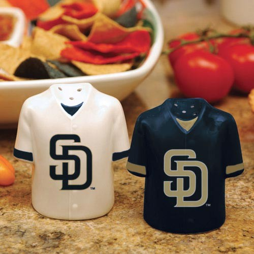 San Diego Padres Gameday Ceramic Salt & Pepper Shakers - No Size