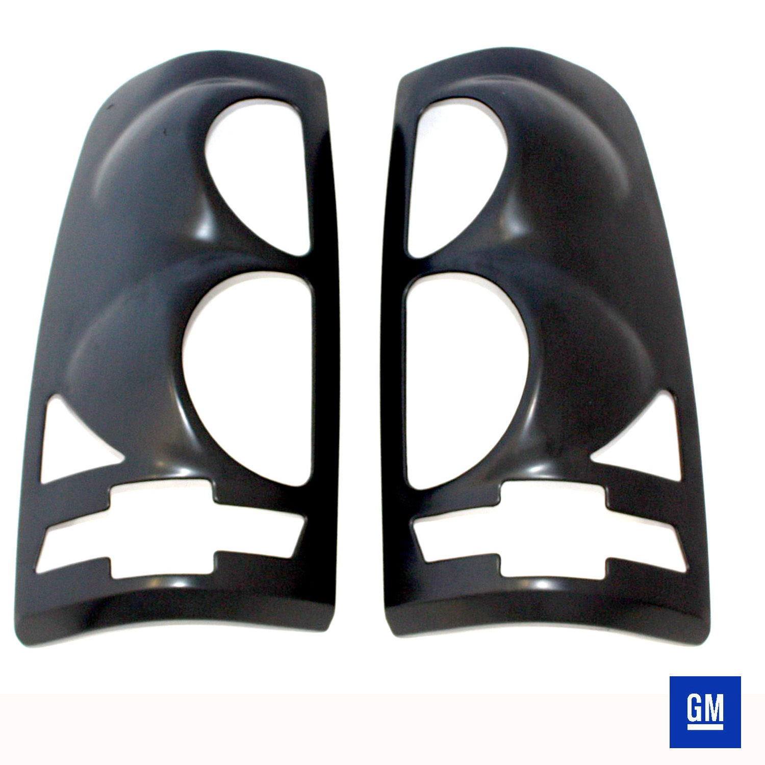 All Sales V2472K Bow Ties Tail Light Cover Paintable Pair