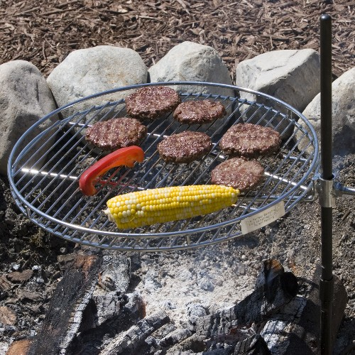 18-Inch Diameter The Perfect CampfireGrill Pioneer