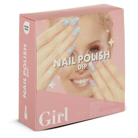 - Who's That Girl Nail Polish Dip- Major Bling