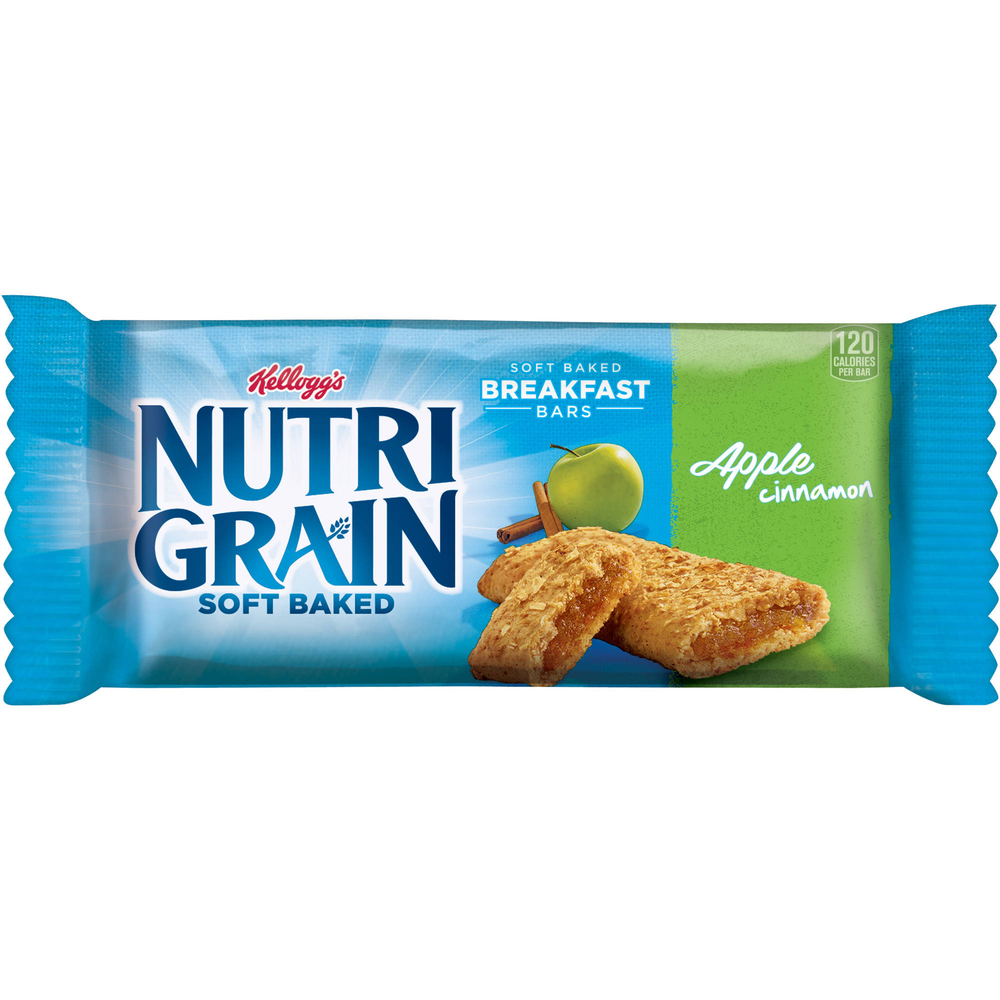 Kellogg's Nutri-Grain Soft Baked Breakfast Bars Apple Cinnamon, 1.3 OZ