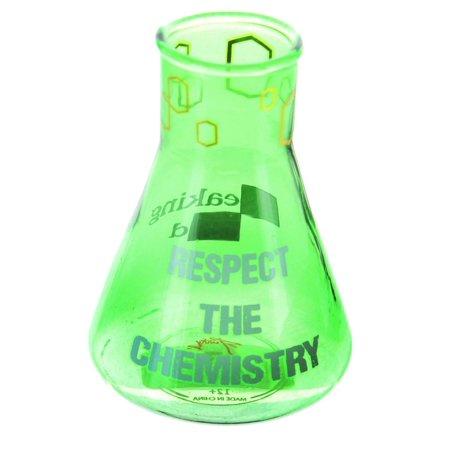Breaking Glass - Breaking Bad Respect Chemistry 3oz Beaker Shot Glass