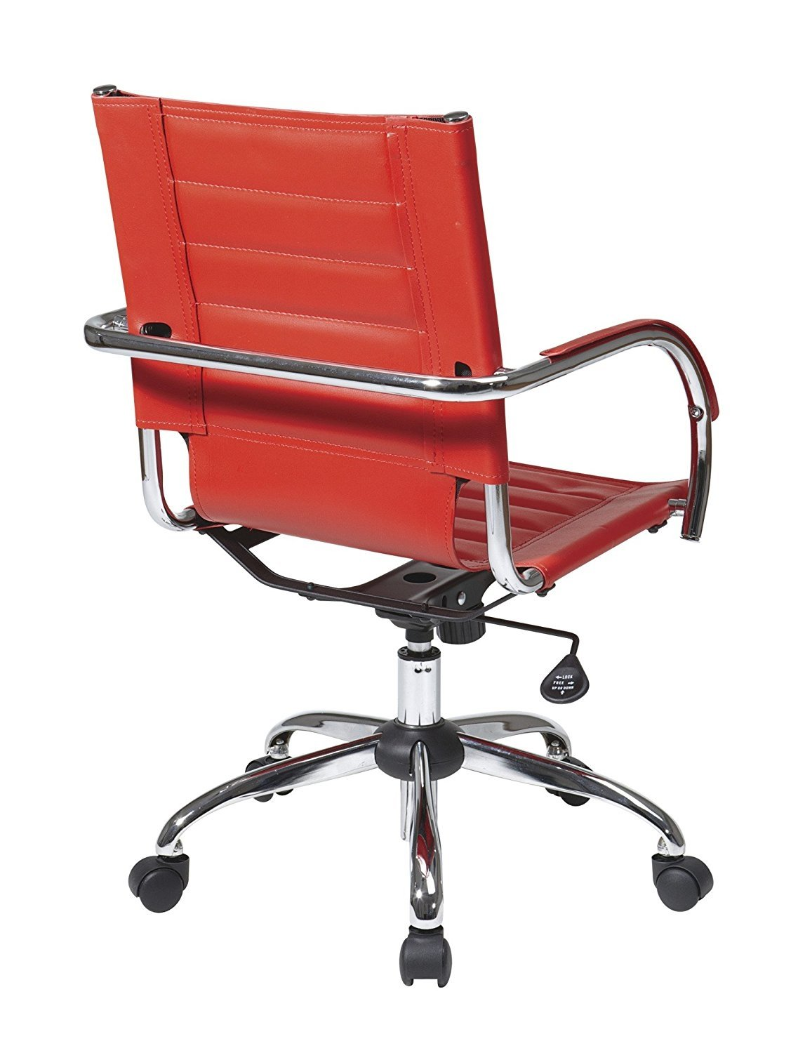 Work Smart//Ave Six AVE SIX Trinidad Guest Chair Black