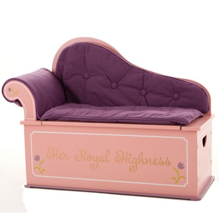 Levels Of Discovery Princess Fainting Couch With Storage