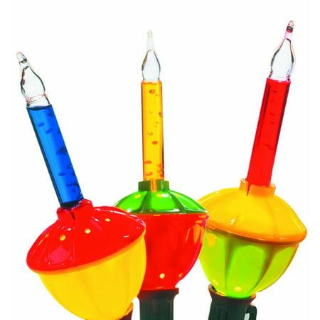 Celebrations G11GR2A1 Multi-color Bubble Lights, 7', 7 Lights ()
