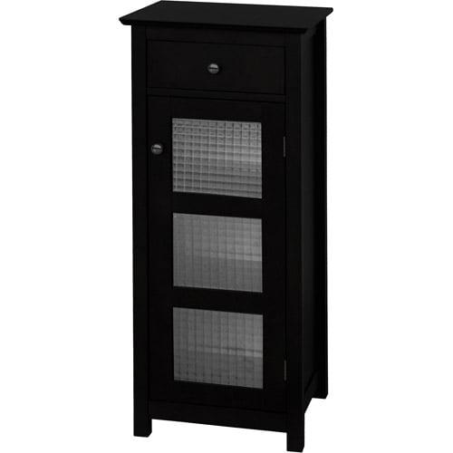 Torino Floor Cabinet with Door and Drawer, Espresso
