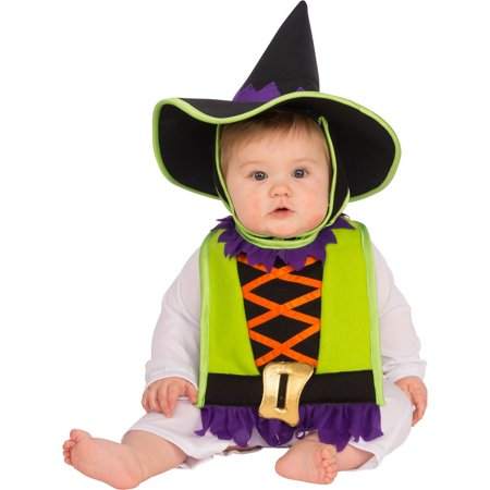 Baby Witch Bib & Hat Costume - Cheap Witch Hats