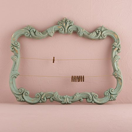Open Ornate Vintage Inspired Frame In Aged (Vintage Frames India)