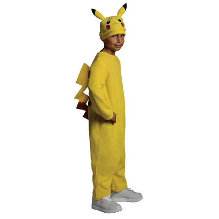 Pokemon Child's Deluxe Pikachu Costume - One Color - Large, Pokemon Child's Deluxe Pikachu Costume - One Color - Large By Rubie's - Pokemon Ash Costume