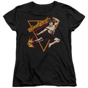Bloodsport Action Packed Womens Short Sleeve Shirt
