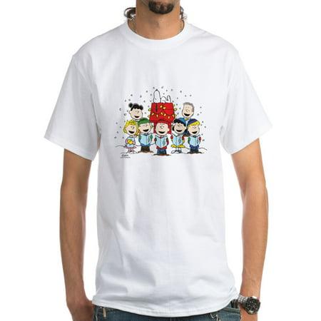 CafePress - Peanuts Gang Christmas White T Shirt - Men's Classic T-Shirts](Peanuts Gang Halloween T-shirt)