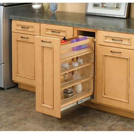 Rev A Shelf 5 Base Cabinet Organizer Pull Out Pantry Walmart Com