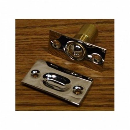Idh by St. Simons 12010-26D Solid Brass Narrow Square Roller Ball Catch, Satin