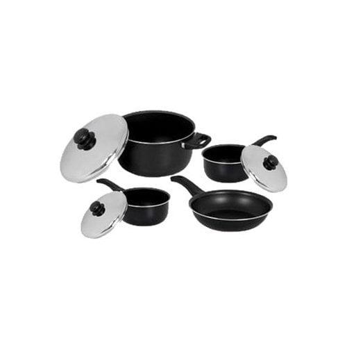 EKCO Radiance Aluminum 7-Piece Cookware Set