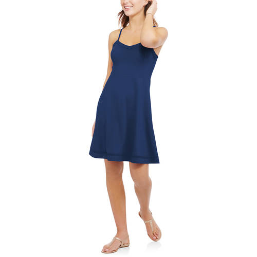 Faded Glory Women's Cami Fit and Flare Dress by Tae Young Vina Co., Ltd.