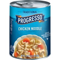 (5 pack) Progresso Soup Traditional Chicken Noodle Soup 19 oz Can