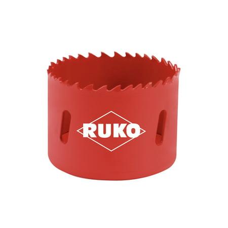 Ruko 106019 - HSS bi-metal hole saw - varied tooth Ø 3/4 In. (19 -