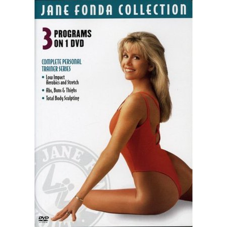 Jane Fonda Collection: Complete Personal Trainer Series - Low Impact Aerobics and Stretch; Abs, Buns & Thighs; Total