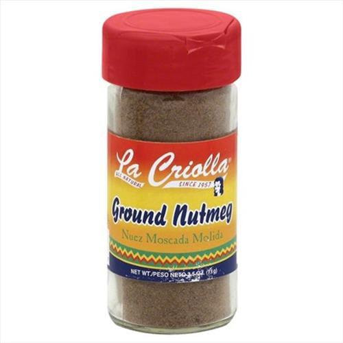 La Criolla 2. 5 oz.  Ground Nutmeg, Case Of 12