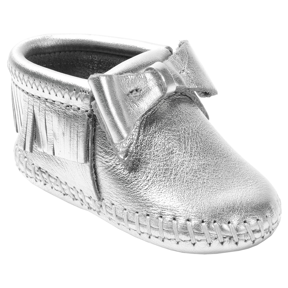 Minnetonka Boys Rosie Gold Infant Bootie by MINNETONKA