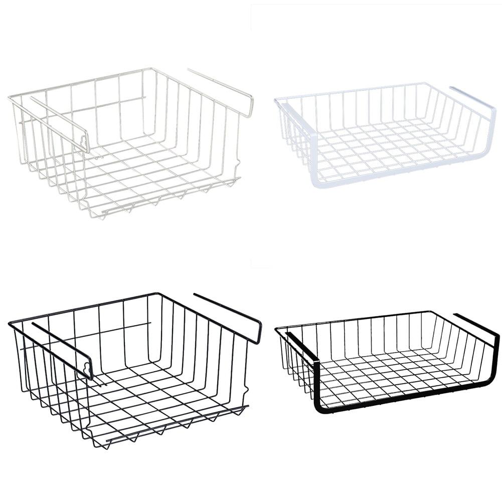 Wire Storage Basket For Kitchen, Pantry, Cabinet