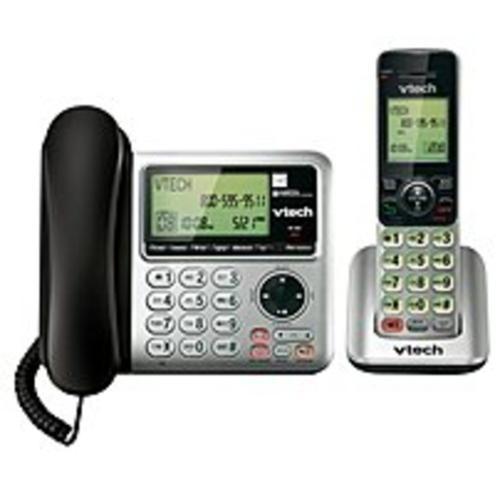 VTech CS6649 Dect 6.0 2-Handset Landline Telephone - Cordless - (Refurbished)
