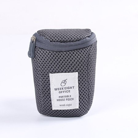 Portable Hard Drive Carrying Case USB Cable Memory Card Charger HDD Pouch (Computer Punch Cards)