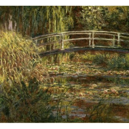 The Pond with Water Lilies Pink Harmony 1900 Claude Monet Musee d Orsay Paris Poster Print